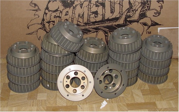 Harley Sportster pulleys, guards, belts – Custom Parts and