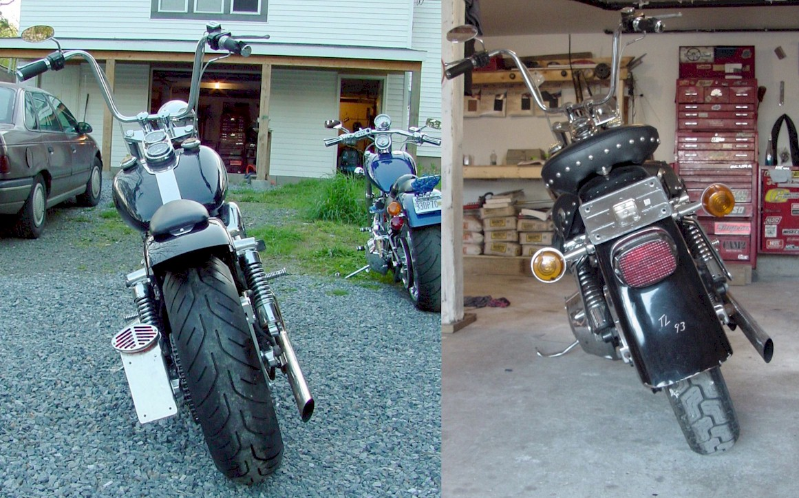 Wide Tire Shovelhead Parts for Harley Davidson