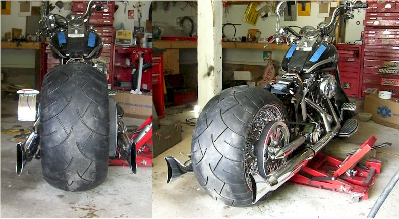 Wide Tire Softail 280 or 300 Tire for Harley Davidson