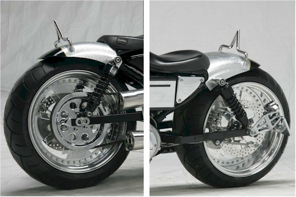 1200 Sportster Wide Tire Kits http://www.cas4.com/Wide-Tire/230-xl-kit-03.htm