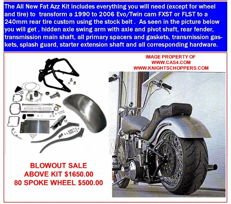 200 Wide Tire Kit Softail http://www.cas4.com/Wide-Tire/Softail-Widetire-003.htm