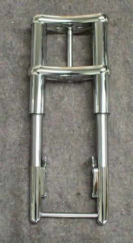 Custom Inverted Fork Front End for Harley Davison